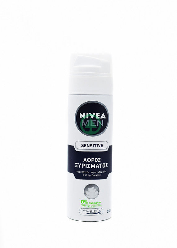Nivea Shaving Foam Sen. 200ml