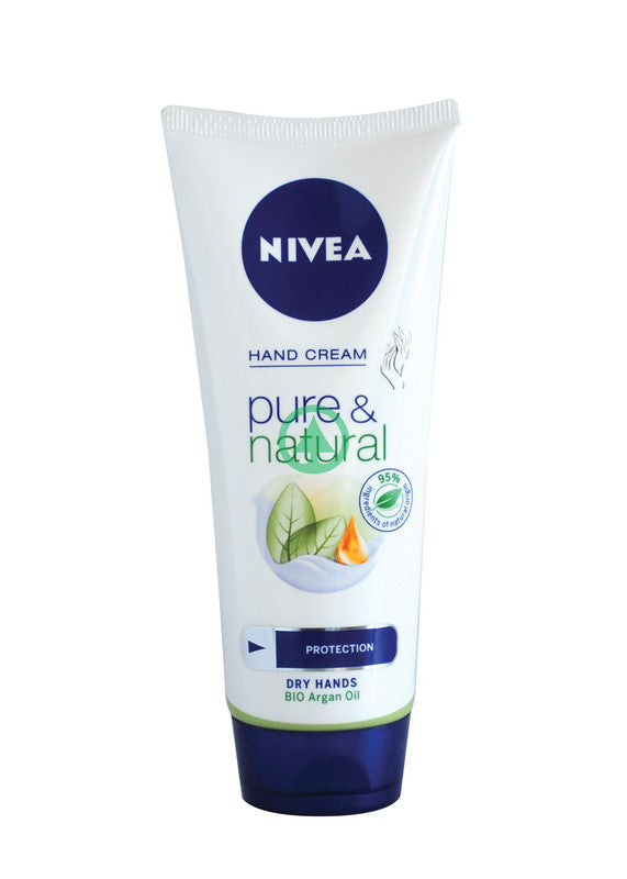 Nivea Pure & Natural Hand Cream 100M