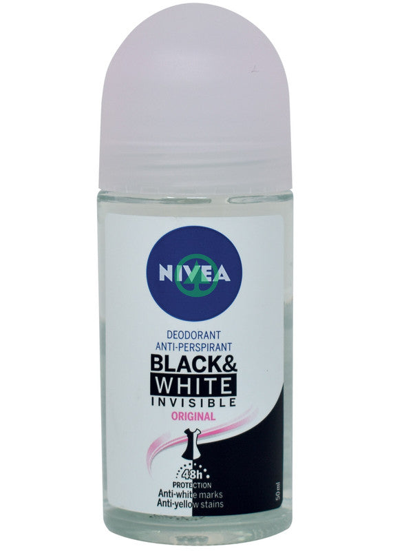 Nivea Invicible Black&White Deodorant Roll On Female 50ml