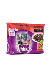 Whiskas Pouch Junior Pk4X100g