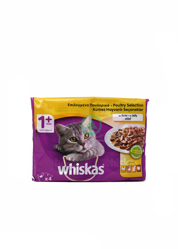 Whiskas Pouch Poultry 100g