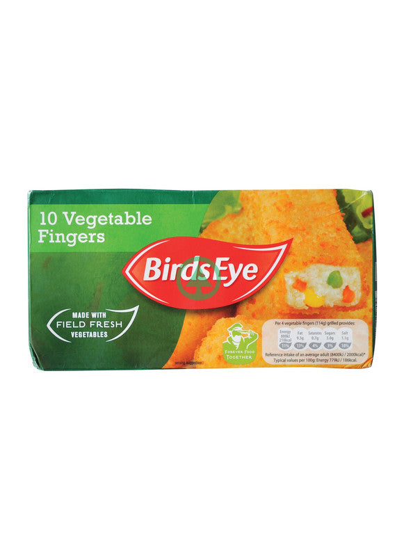 Birds Eye 10 Vegetable Fingers 284g