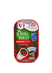 John West Mackerel Filets Tomato 125g