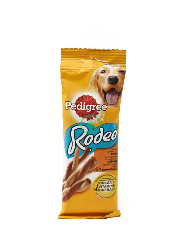 Pedigree Rodeo Chicken 4Pcs 70g