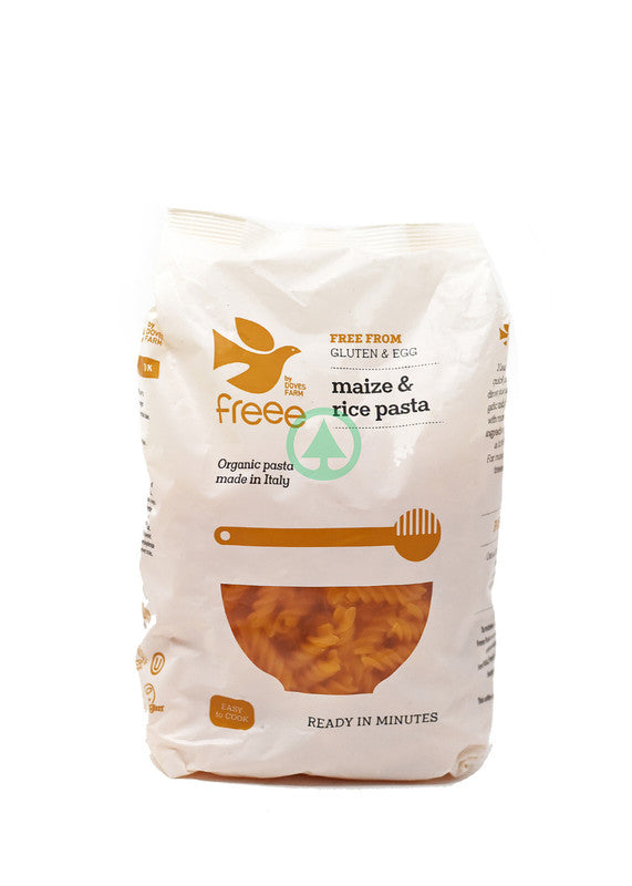 Doves Farm Brown Rice Penne Pasta G/F 500g