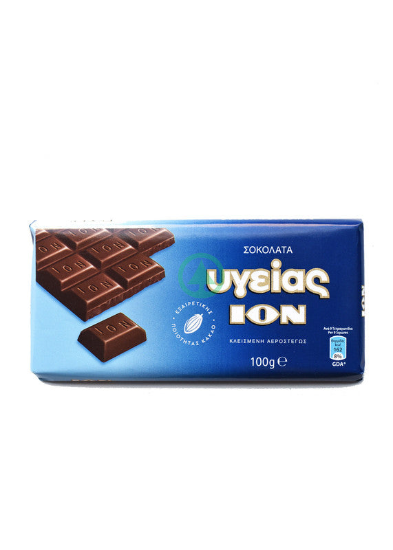 Ion Ygeias Milk Chocolate 100g