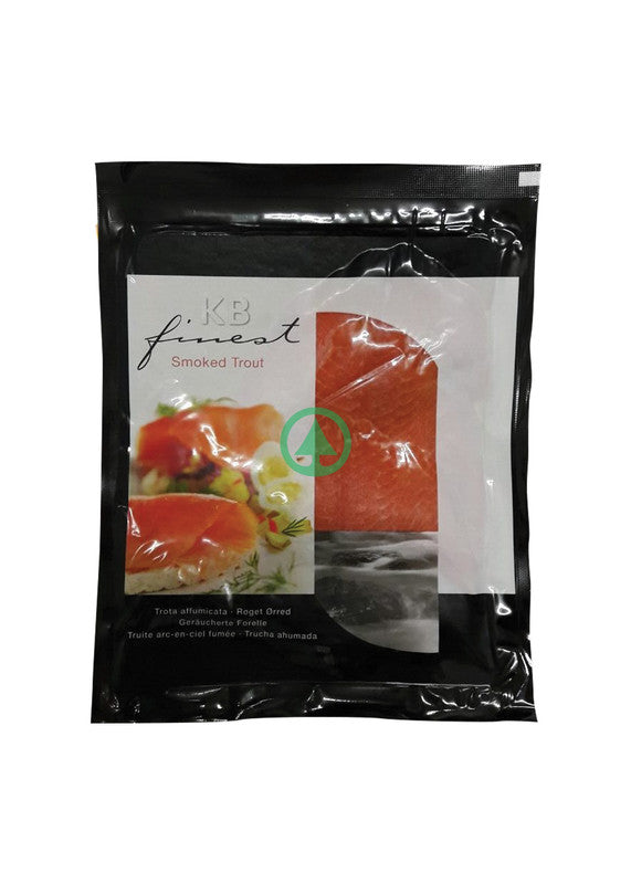 KB Finest Smoked Salmon Trout 100g