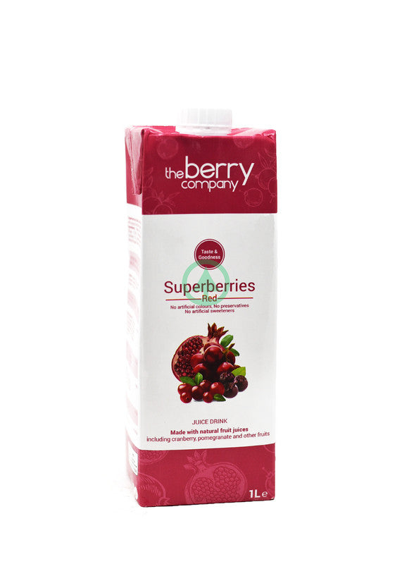 The Berry Superberry Red Juice 1L