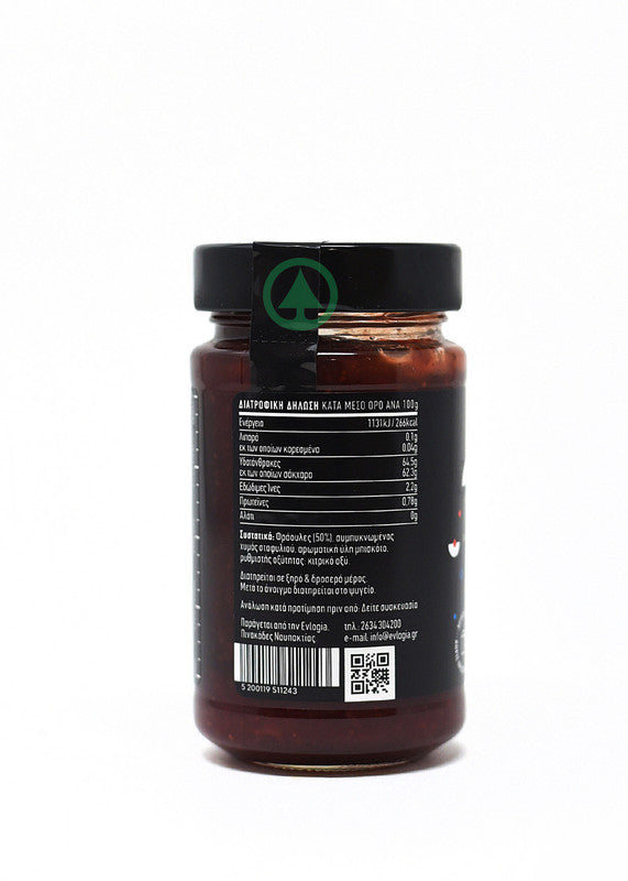 Evlogia Straberry/Biscuit Marmelade 280g