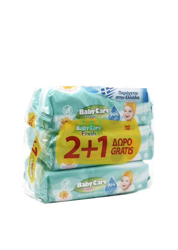 Babycare  Baby Wipes Fresh X64Pc