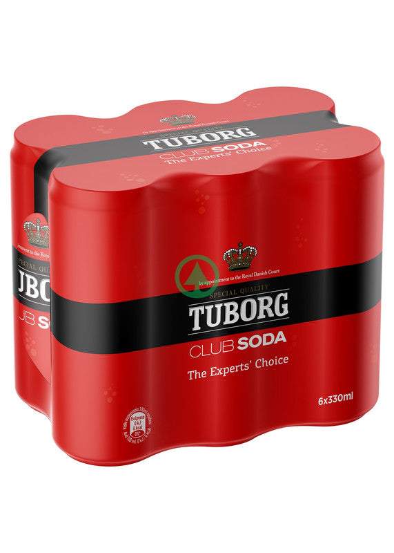 Tuborg Soda Can 6x33cl