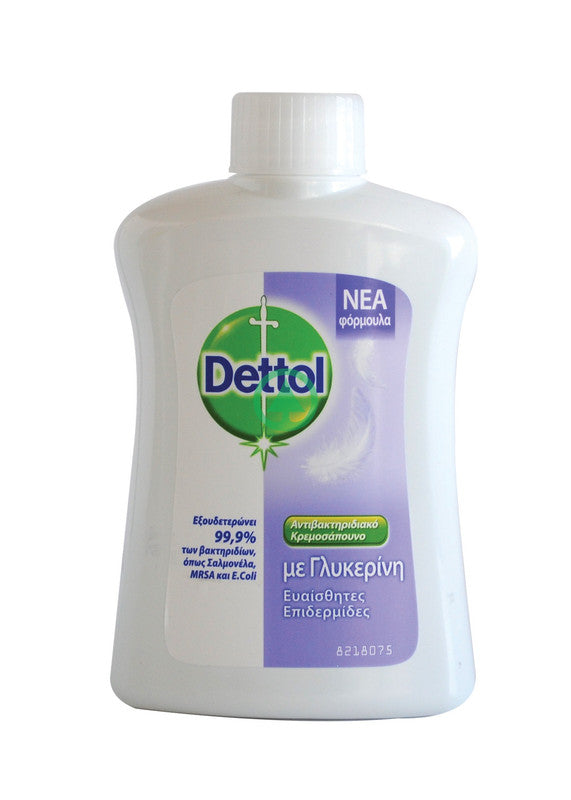 Dettol H/Wash Sens Refil 250ml