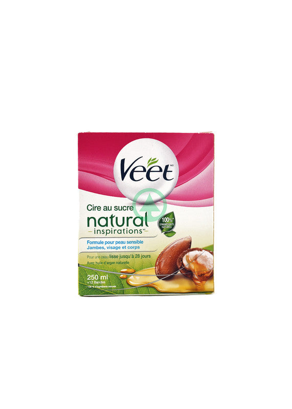 Veet Hot Wax Argan Oil 250ml