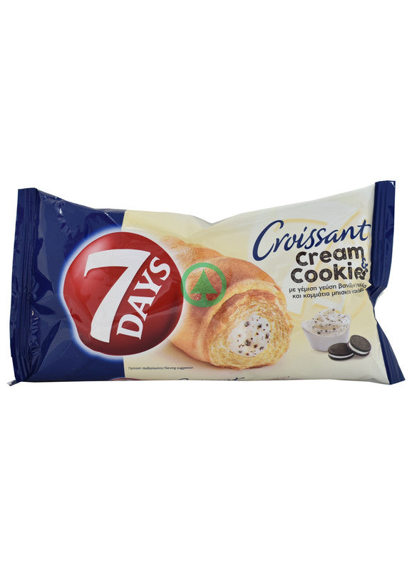 7Days Vanilla Cream Cookie Croissant 80g