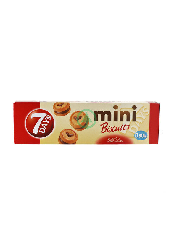 7Days Mini Biscuits Cocoa 100g
