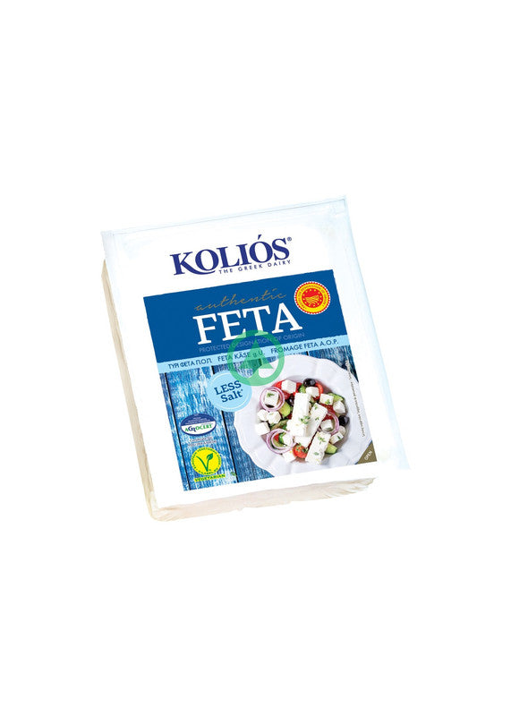Kolios Less Salt Feta POP 150g