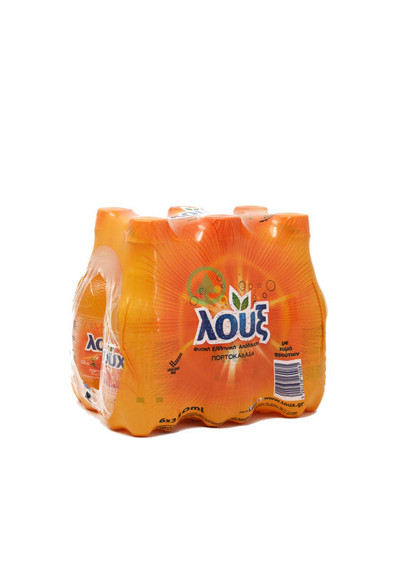 Loux Orange Pet 6X330ml