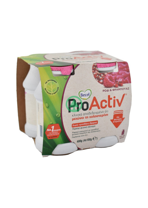 Becel ProActiv Mini Pomegranate 4X100g