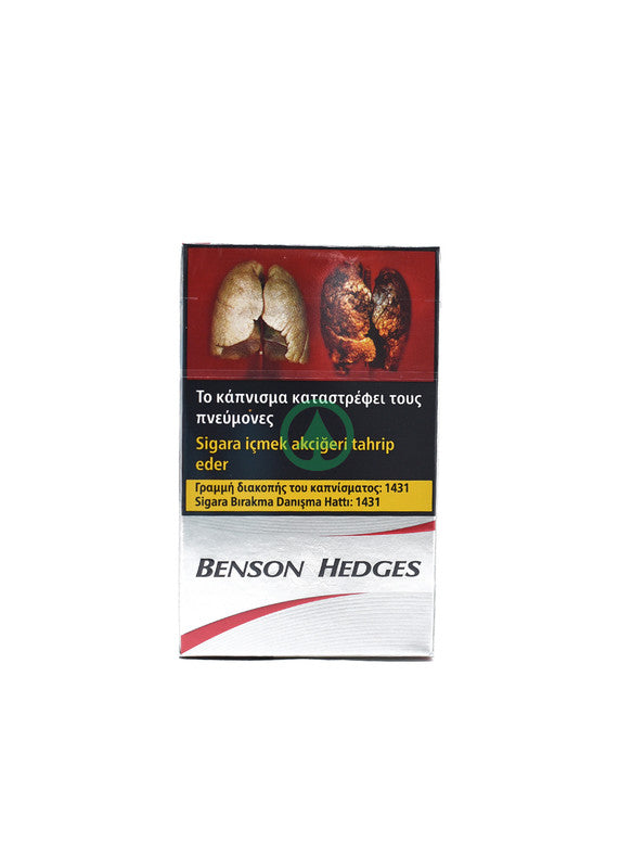Benson &Hedges Silver 20.S