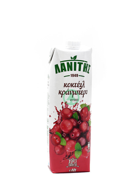Lanitis Cranberry Juice 1L