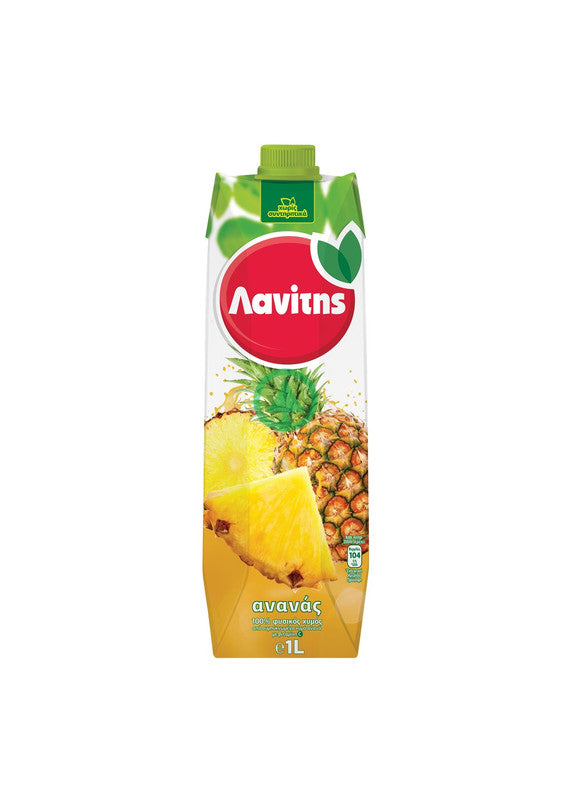 Lanitis Pineapple Juice 1L