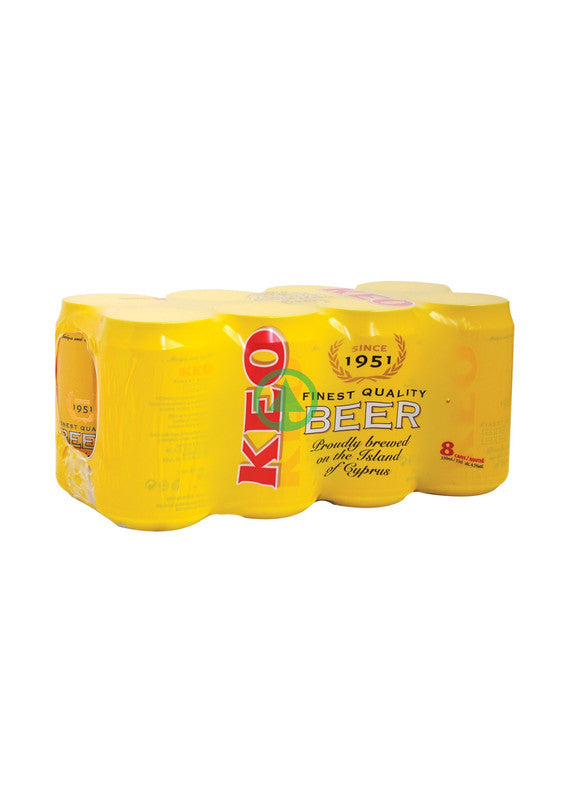 Keo Beer Can 330ml X8