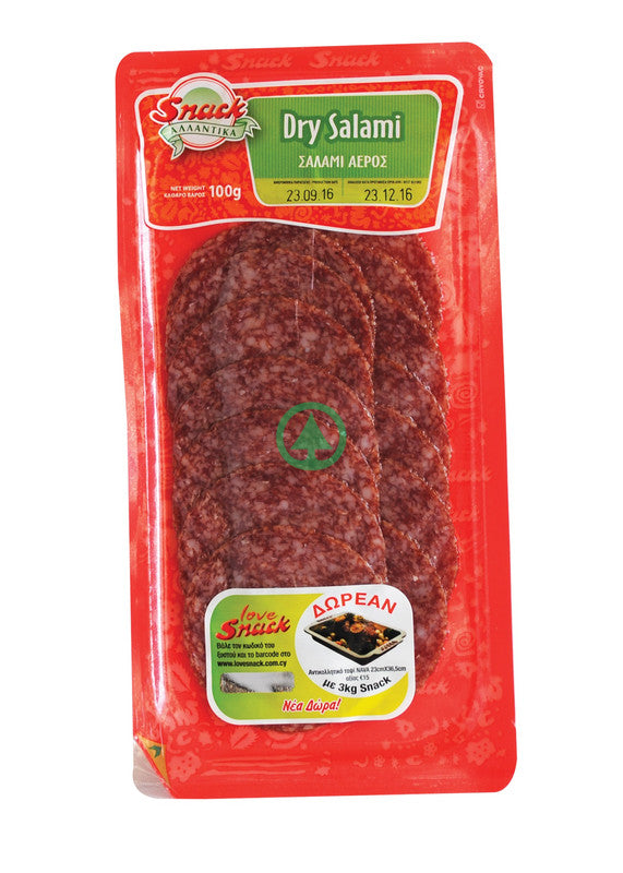 Snack Salami Sliced 100g