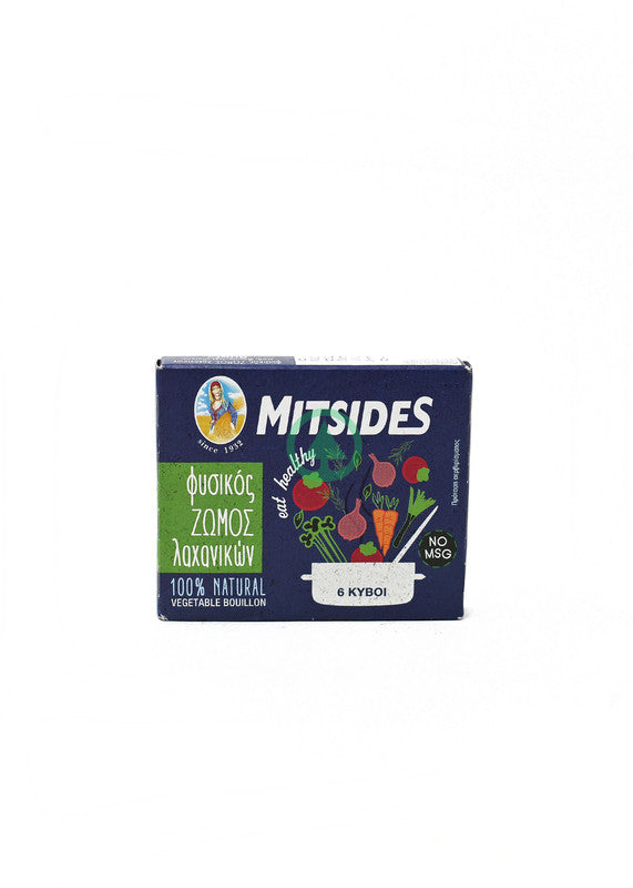 Mitsides Vegetable Bouillon X6 60g