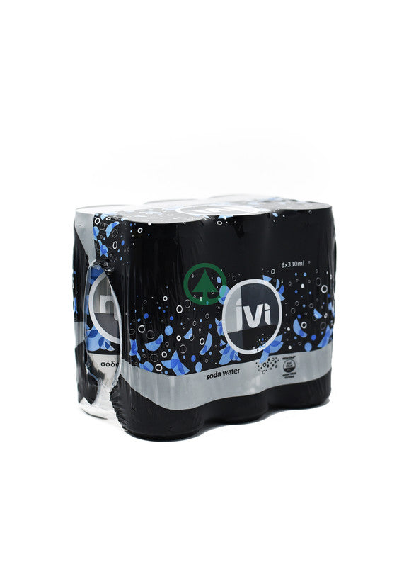 IVI Soda Water Tin 330ml