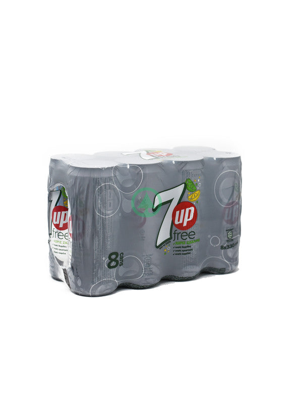 7-Up Diet 8X330ml