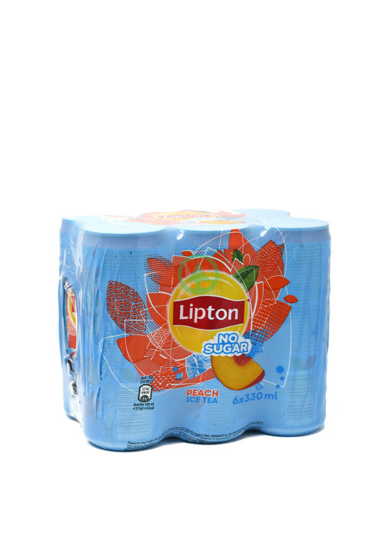 Lipton Light Peach Ice Tea 6X330ml