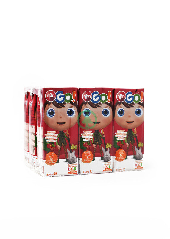 IVI Go Red Juice 9X250ml