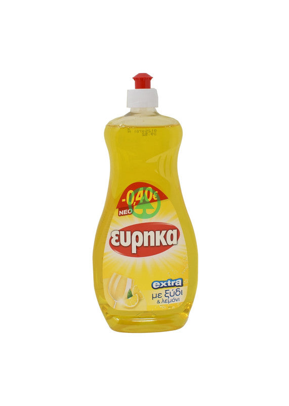 Eureka Dishwashin Liquid Vinegar 750ml €-0.40