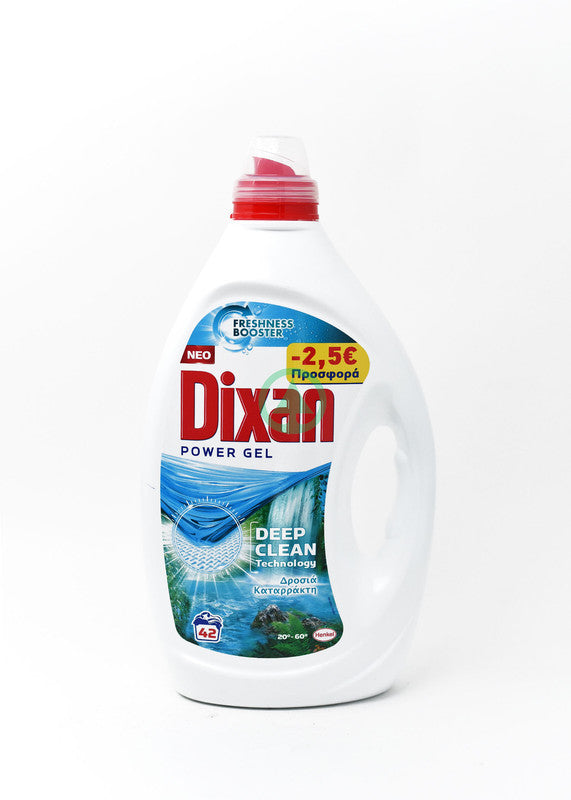 Dixan Gel W/Fall 2.1L 42W-2.5€