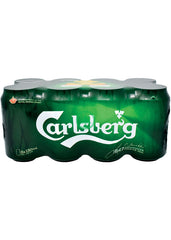 Carlsberg Beer Can 330ml X8