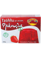 Johnsof Strawberry Flavour Jelly 150g
