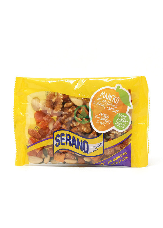 Serano Man&Apr.With Nuts 150g