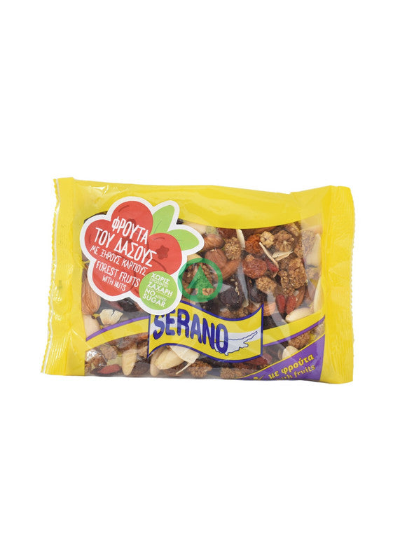 Serano F.Fruit With Nuts 150g
