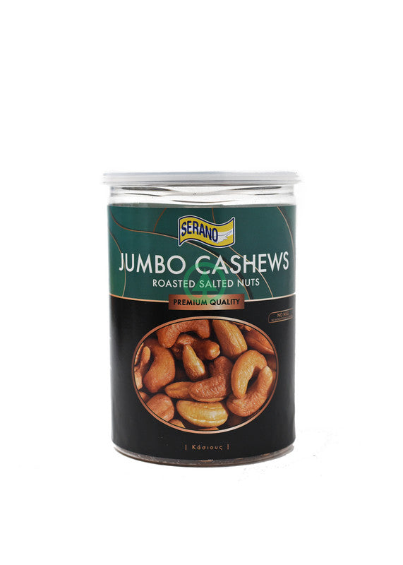 Serano Jumbo Roasted Salted Cashews 380G