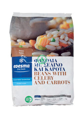 Edesma Beans with Celery & Carrots 900G