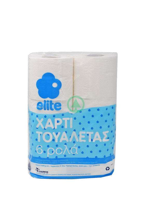 Elite Toilete Roll X6 542g