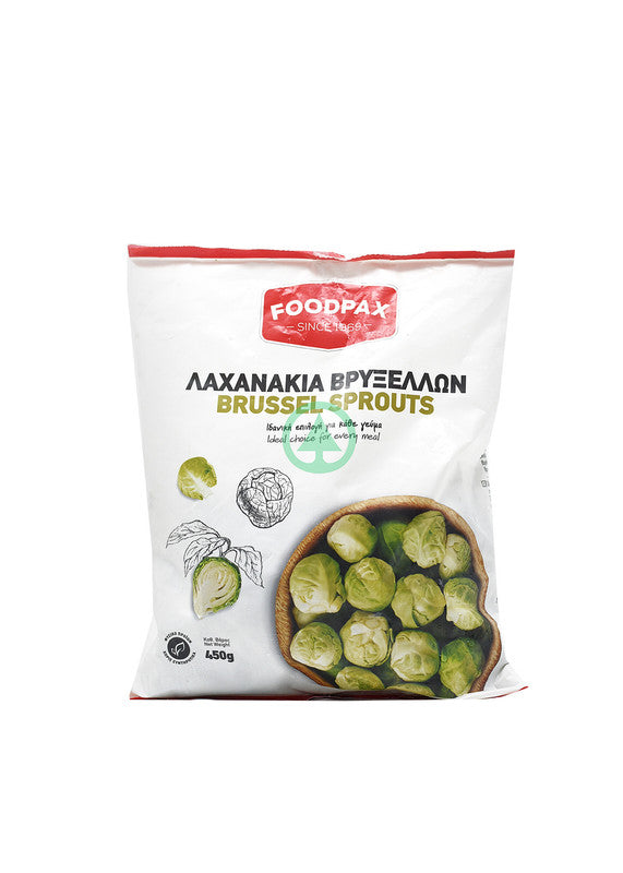 Foodpax Frozen Brusel Sprouts 450G