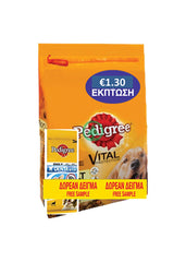 Pedigree Adult Beef 3Kg -€1.30