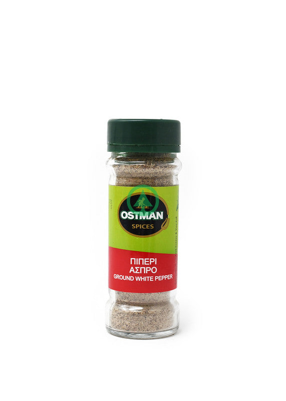 Ostman Ground White Pepper 60g