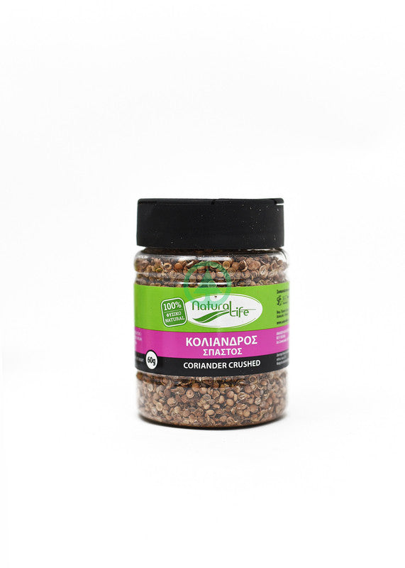 Natural Life Crushed Coriander  60G