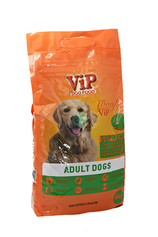 Vip Dog Dry Food  Adult Dog Maintenance 4Kg