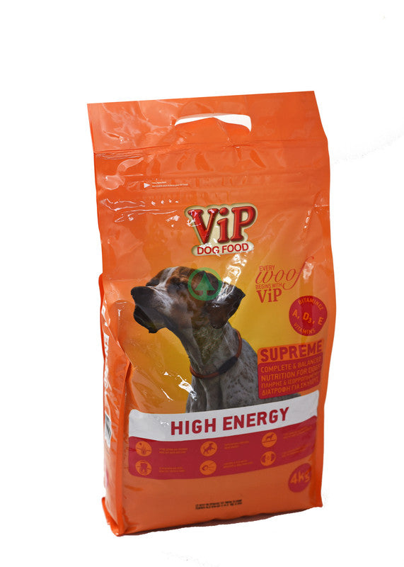 Vip Dog Dry Food High Energy 4Kg