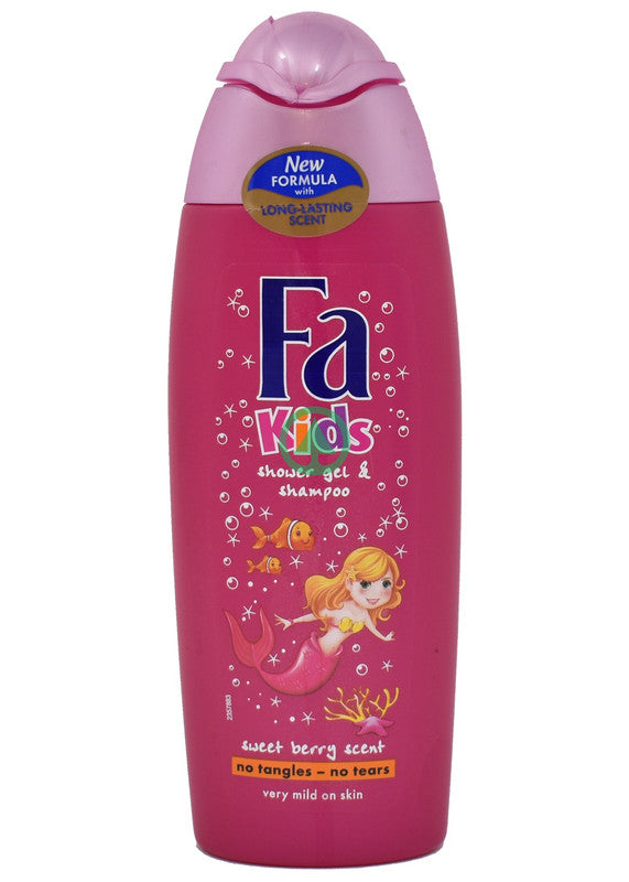 Fa Kids Shower Gel & Shampoo Mermaid250 ml