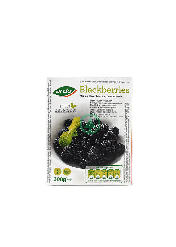 Ardo Blackberries 300G