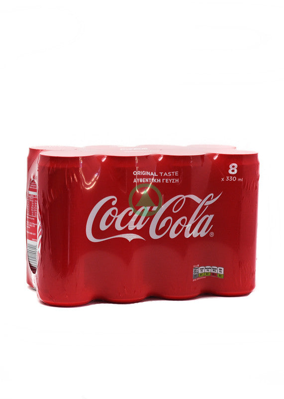 Coca Cola Can 8X330ml